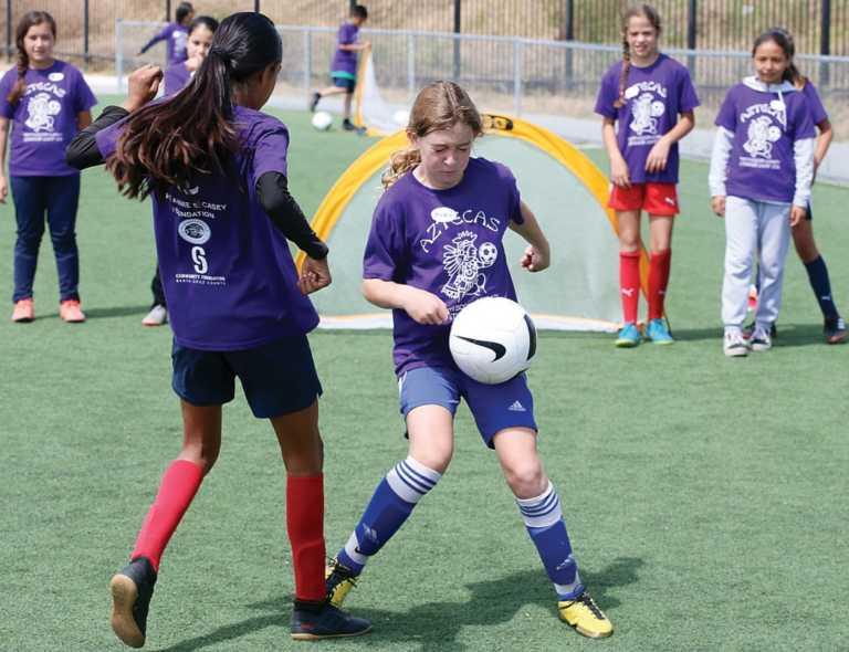 Summer soccer program scores goal
