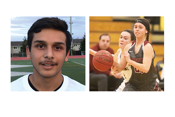 Togo's AOW Jeal Leal and Audrey Hernandez