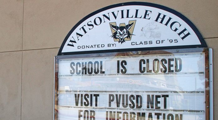 Watsonville school Covid-19 closures