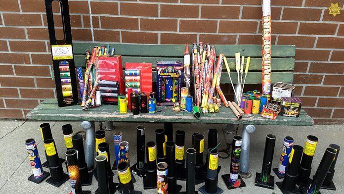 Watsonville Police fireworks