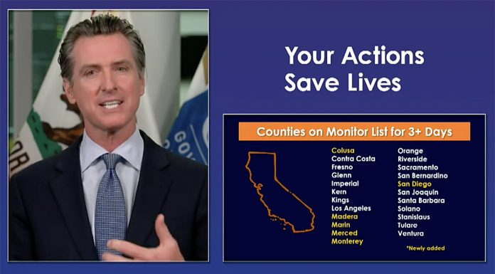 newsom monterey county