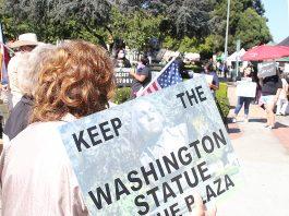 George Washington bust watsonville