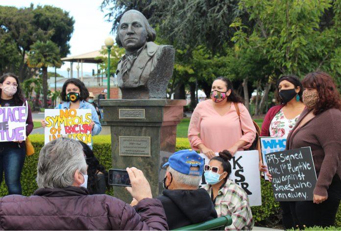 Watsonville Washington bust