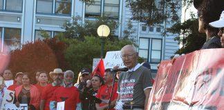 mas Hashimoto and the Watsonville-Santa Cruz chapter of the JACL
