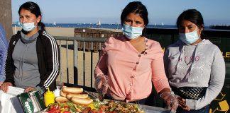 Linda Garcia hot dog