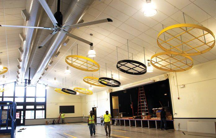 Watsonville High School cafeteria