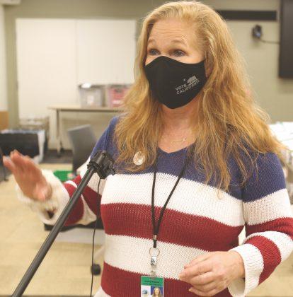 Santa Cruz County Clerk Gail Pellerin