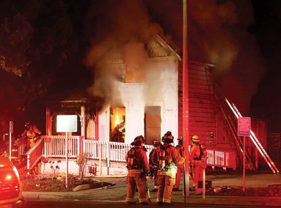 Sobering center Santa Cruz fire
