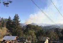 Santa Cruz county winds fires