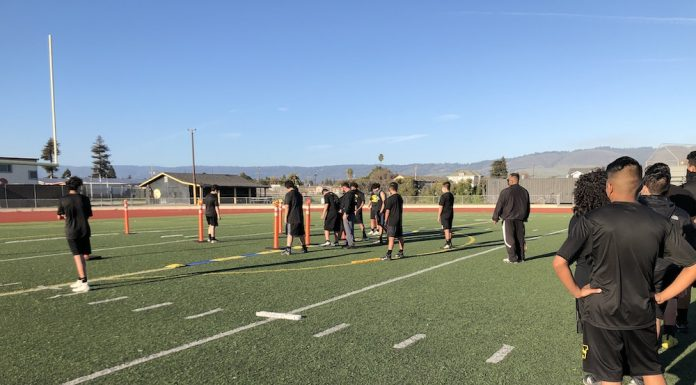 Watsonville High field renovation measure l