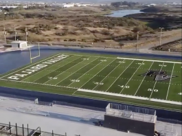 Pajaro Valley High School athletic field