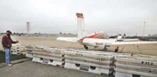 watsonville airport lawsuit United Flight Services