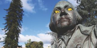Washington statue Watsonville City Plaza