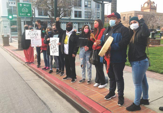 anti asian protest watsonville