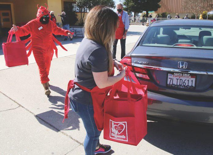 Drive-Thru Crab Feed santa cruz county fairgrounds