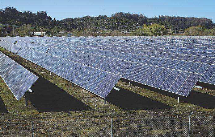 Graniterock solar power farm