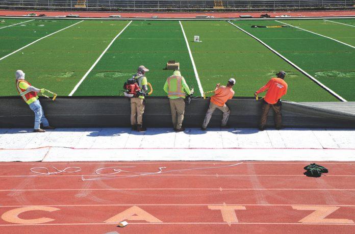 Watsonville high school field