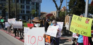 Watsonville AAPI rally