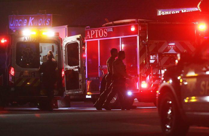 aptos deputies shot man shooting