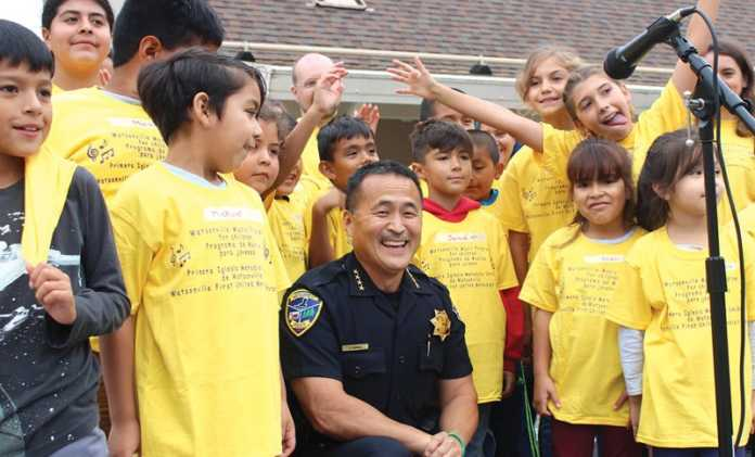 Watsonville police chief David Honda retire