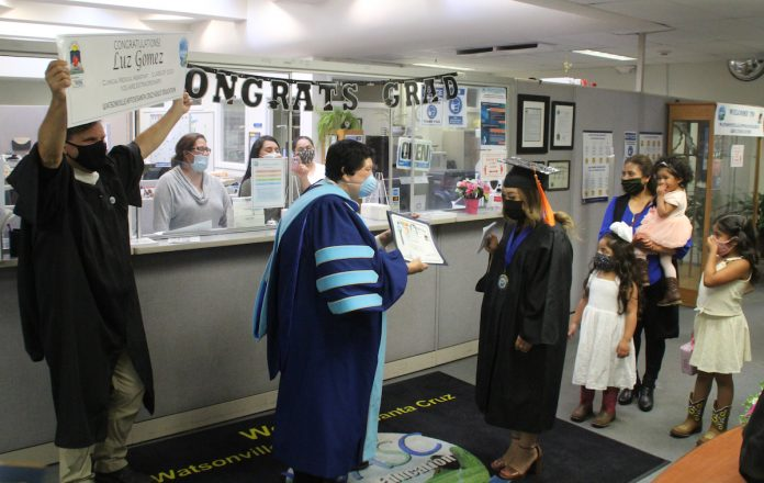 Watsonville/Aptos/Santa Cruz Adult Education graduation