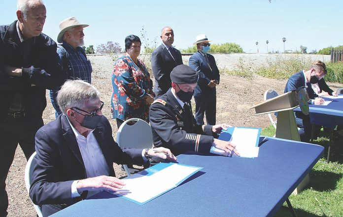 pajaro river design agreement