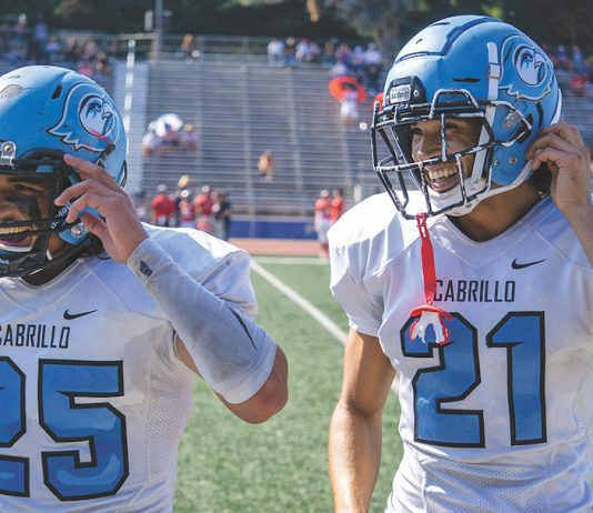 cabrillo college football reinstated