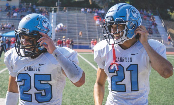cabrillo college football reinstated