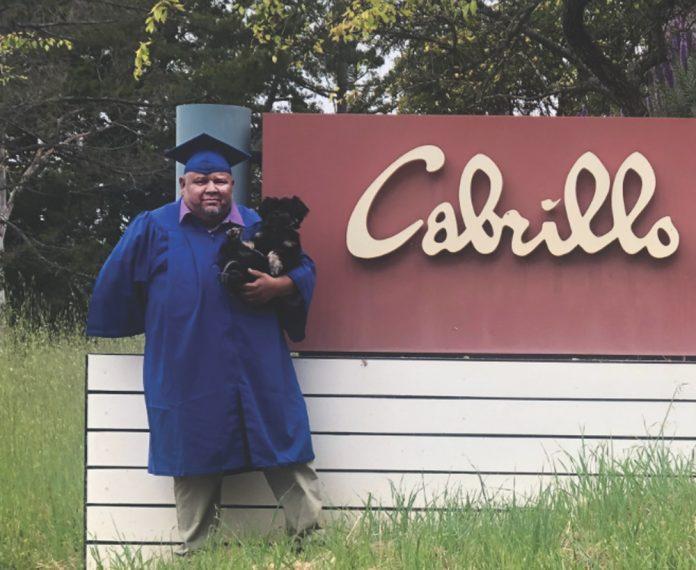 cabrillo college graduate Tomas Alejandrez