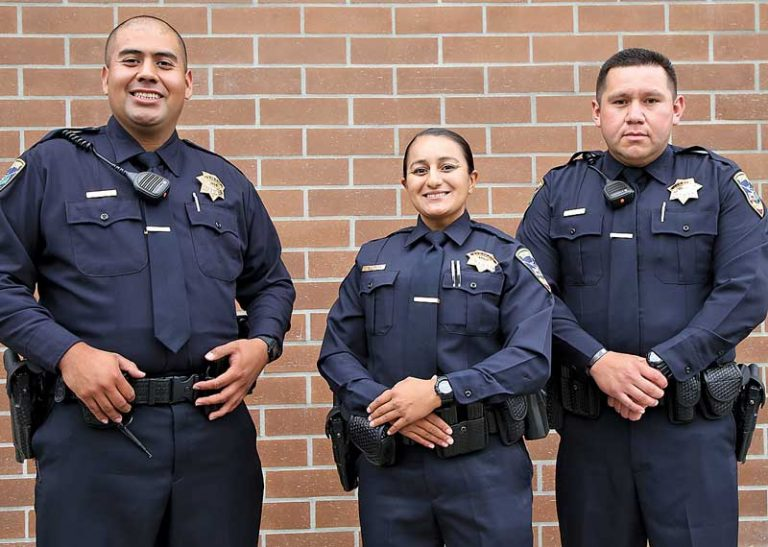 Watsonville Police Department welcomes three new officers