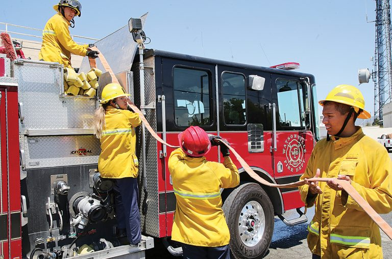 Sparking careers: Watsonville Fire youth program wraps up